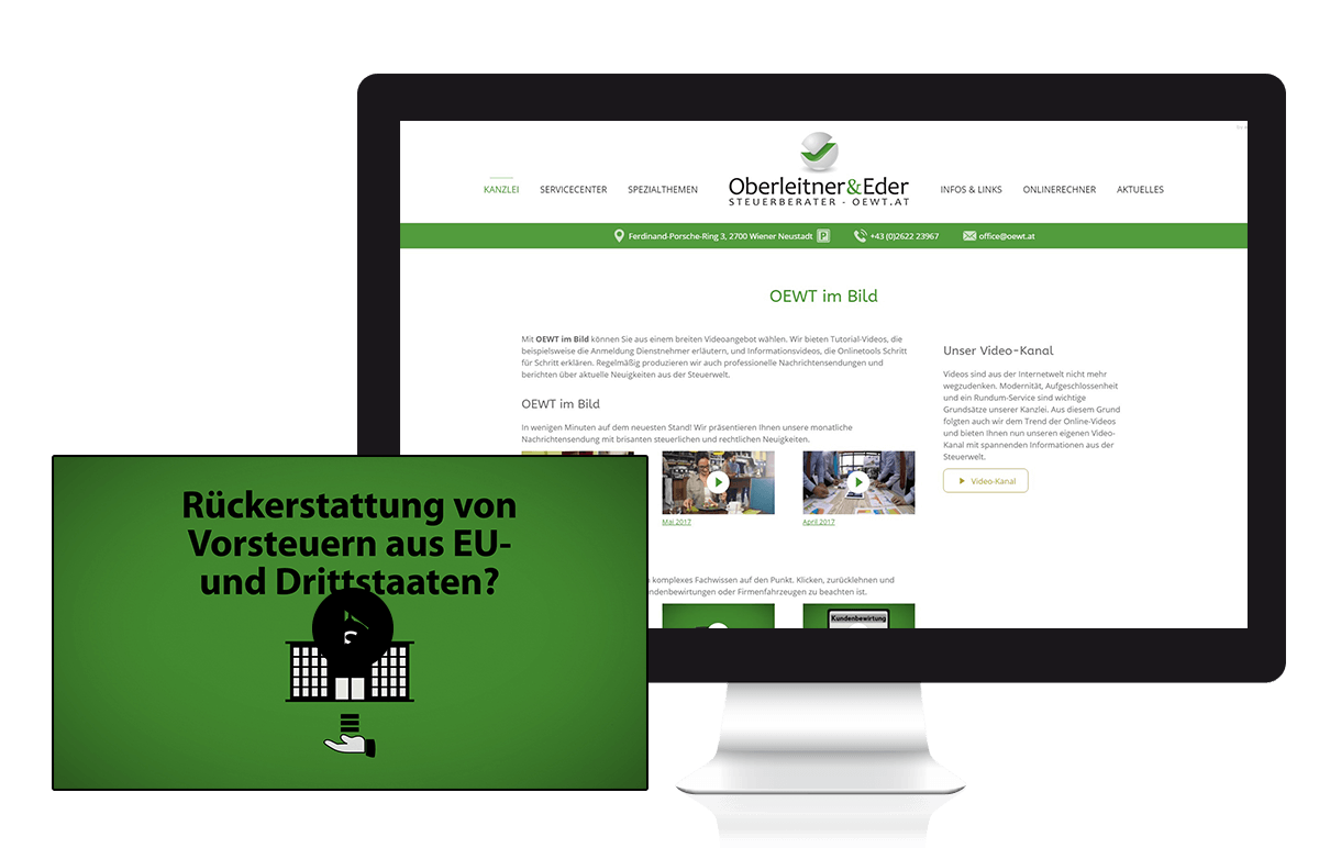 Steuerberater-Videos ≡ Kanzleivideos Steuerberater